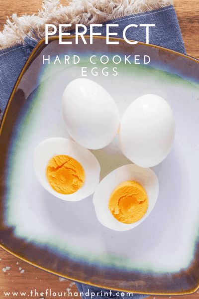 Hard cooked eggs are easy to perfect with a steaming cooking technique