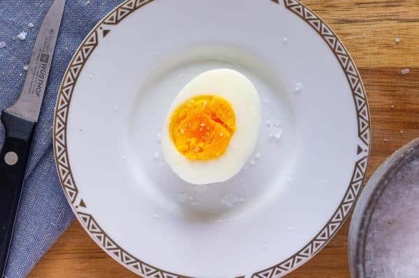 a perfect hard cooked egg via the steaming method